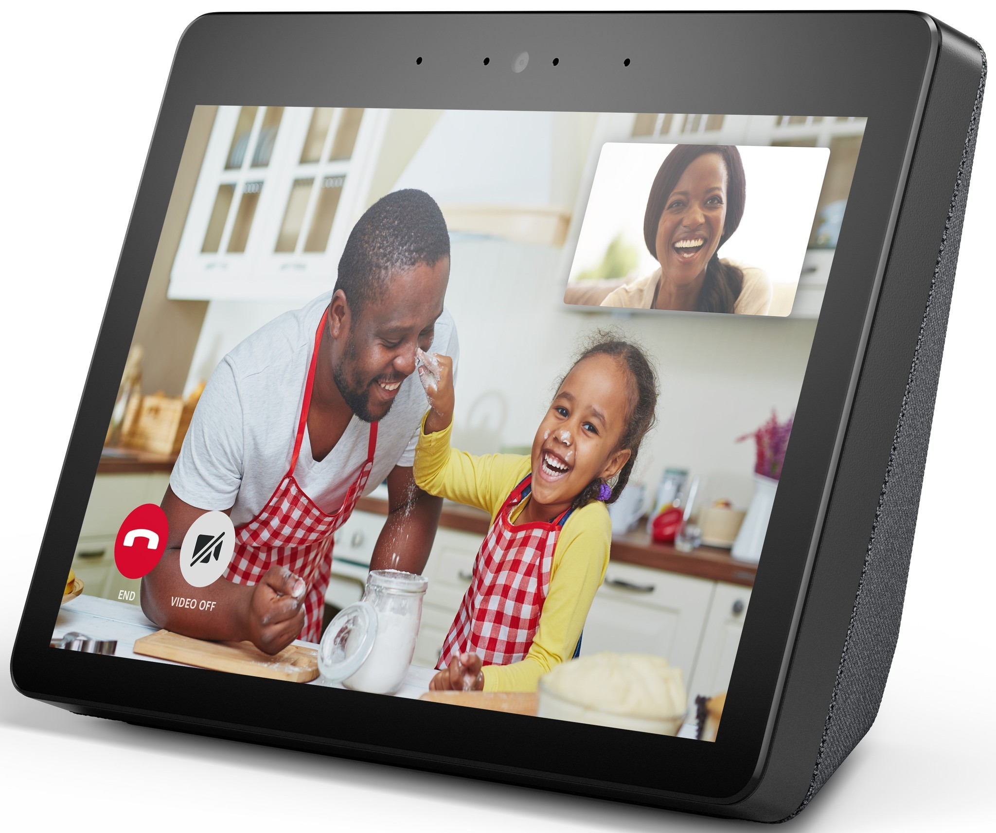 Echo Show 2nd Gen official render