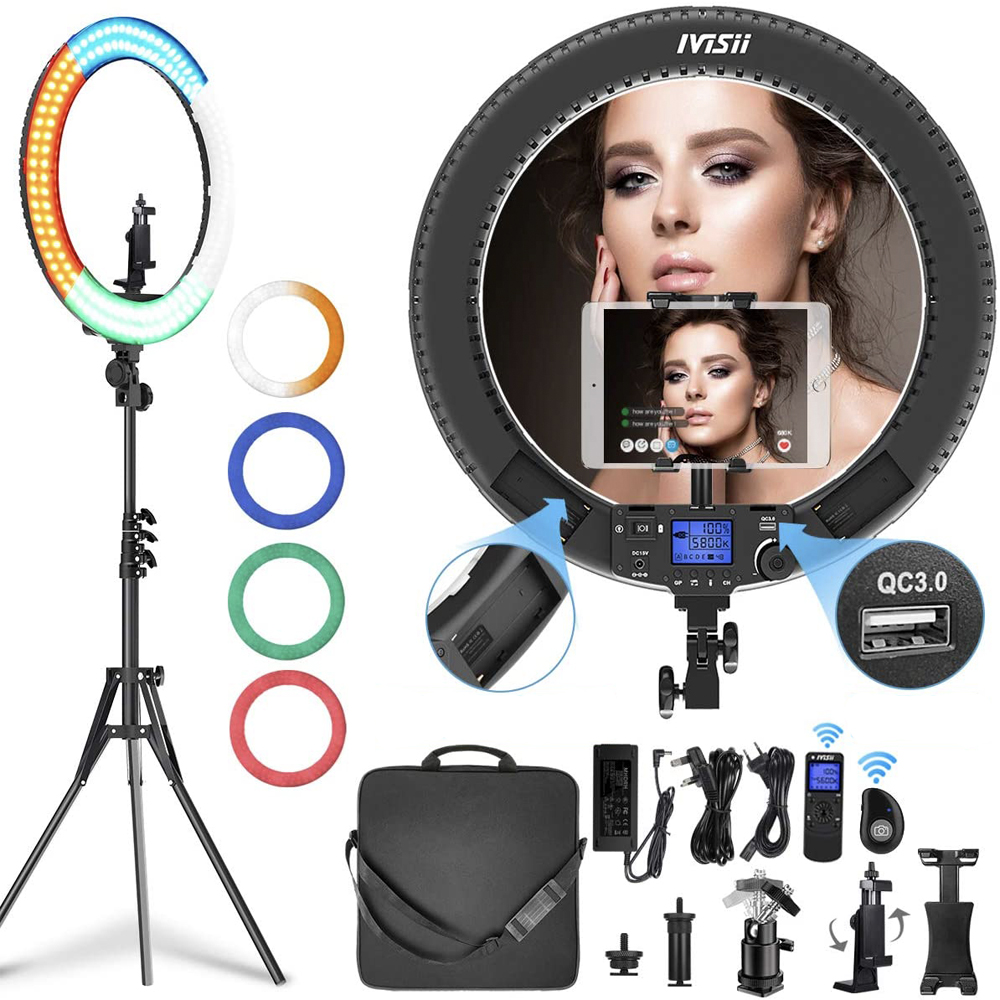 Ivisii Ring Light color kit
