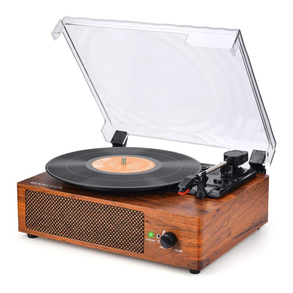 Wockoder Record Player