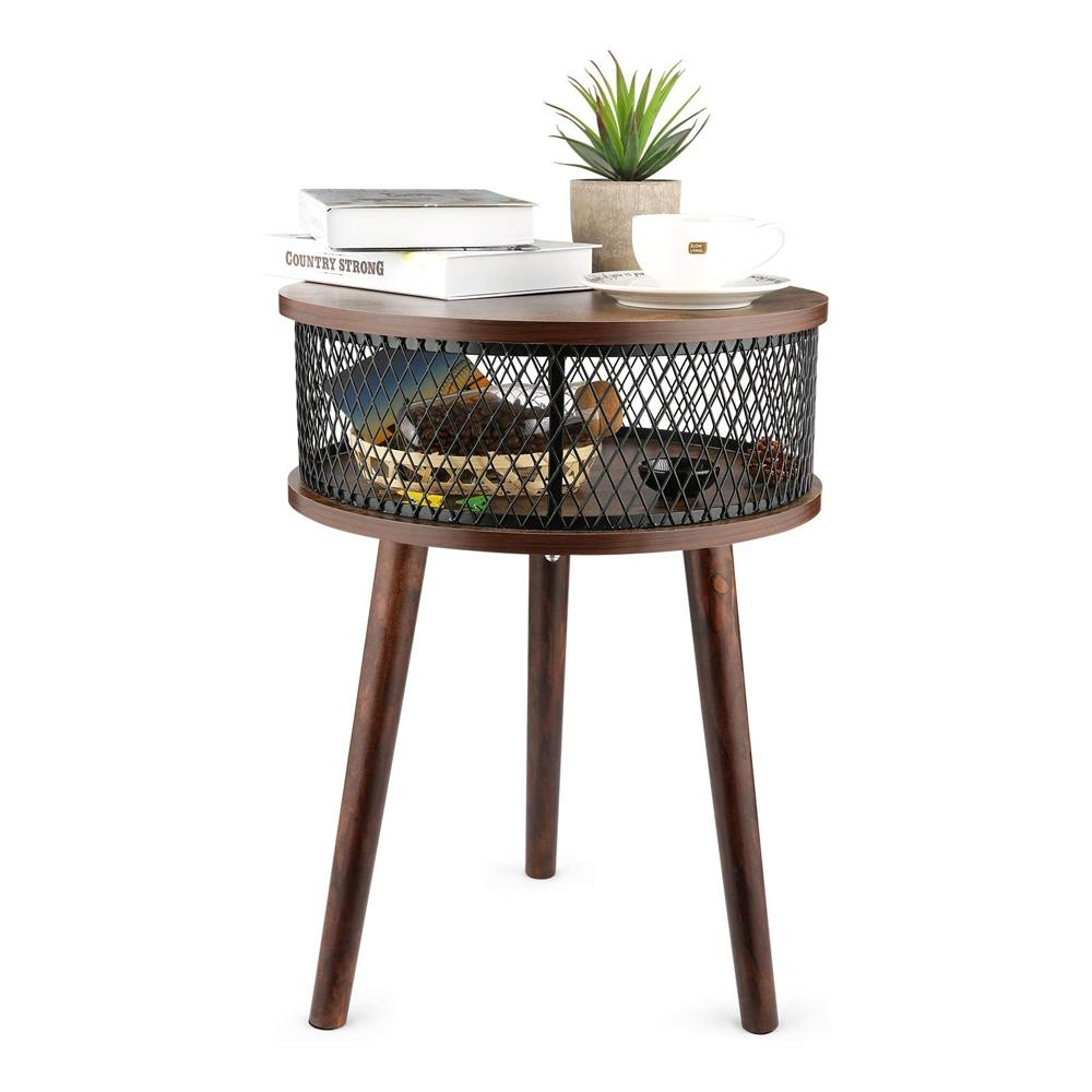 Bathwa Industrial Accent Table