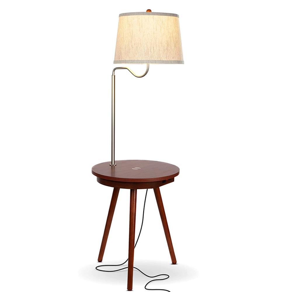 Brightech Owen Table With Lamp
