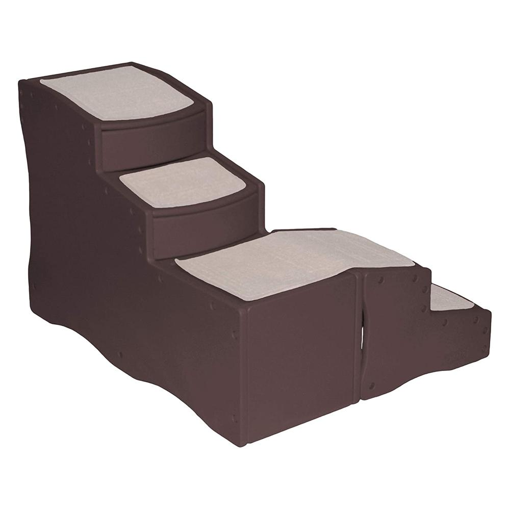 Pet Gear Easy Step Bed Stair With Storage Compartment