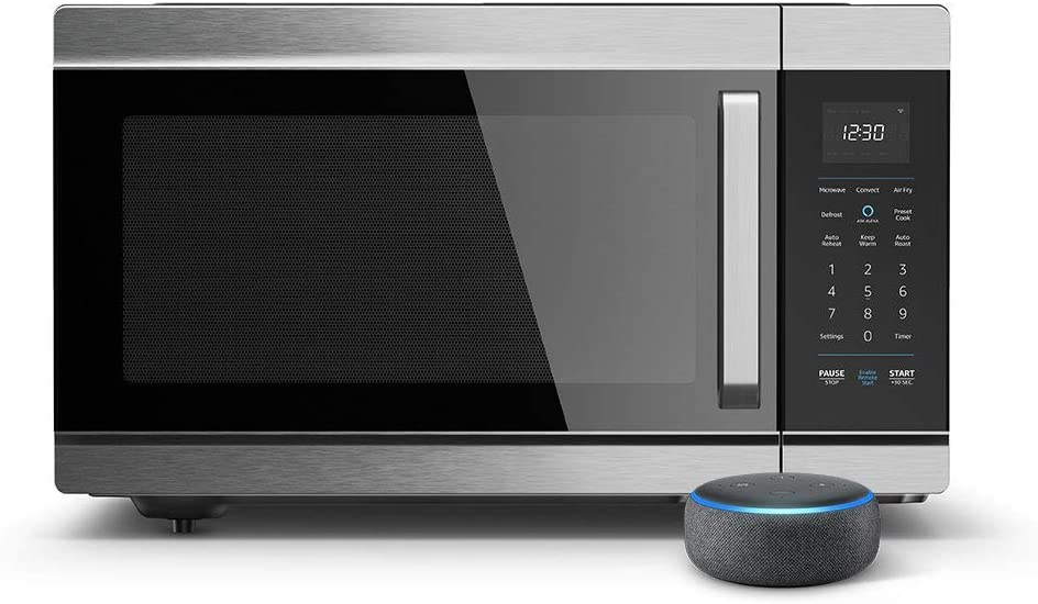 Amazon Smart Oven Echo Dot