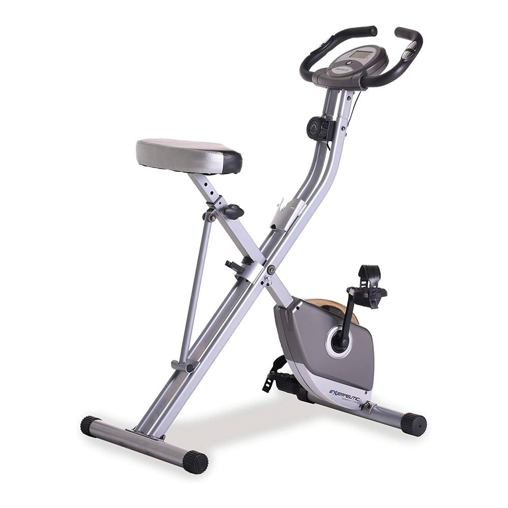 Exerpeutic Magnetic Folding Exercise Bike