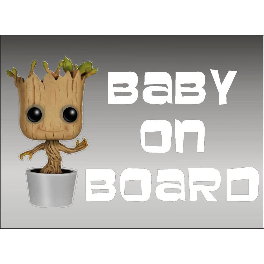 Groot Baby On Board