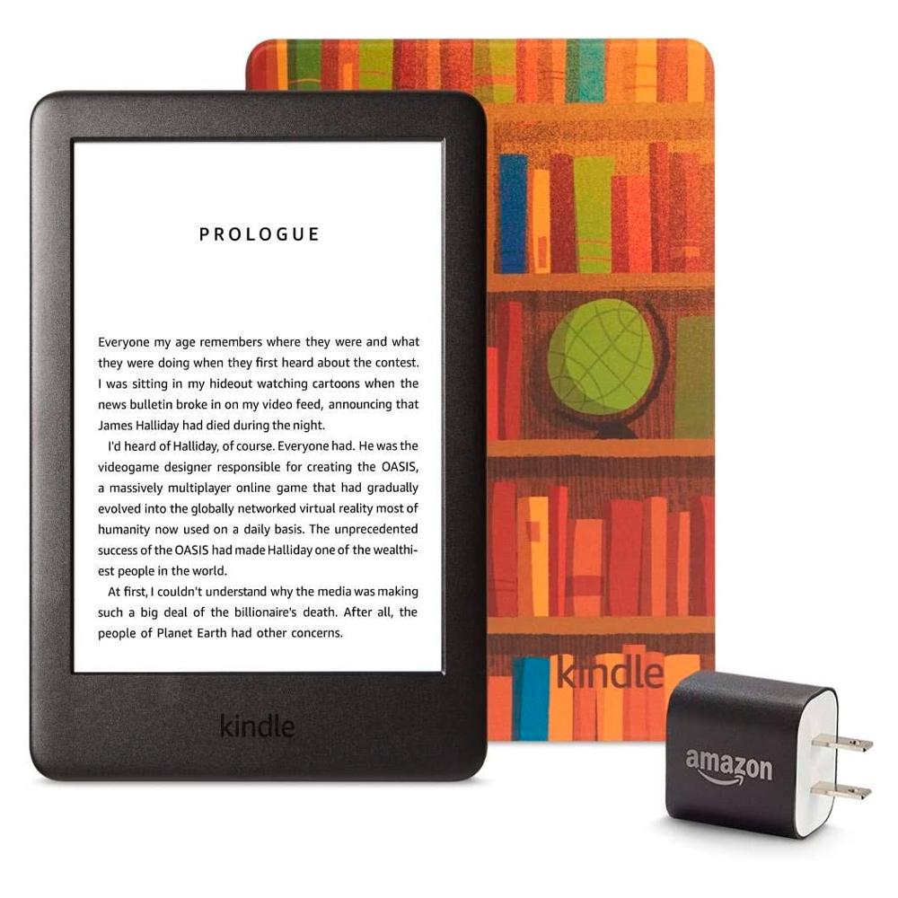 Kindle Essentials Bundle Amazon Printed Cover