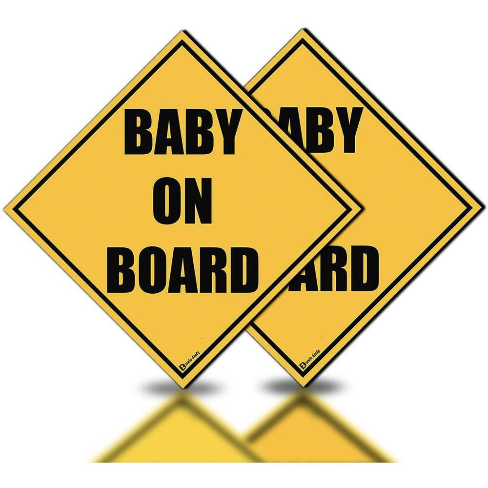 Zento Baby On Board Stickers