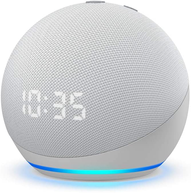 Amazon Echo Dot With Clock 4th