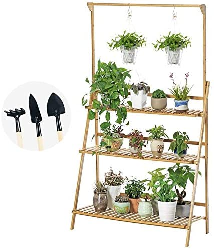 Jmsl Bamboo Plant Hanging Stand