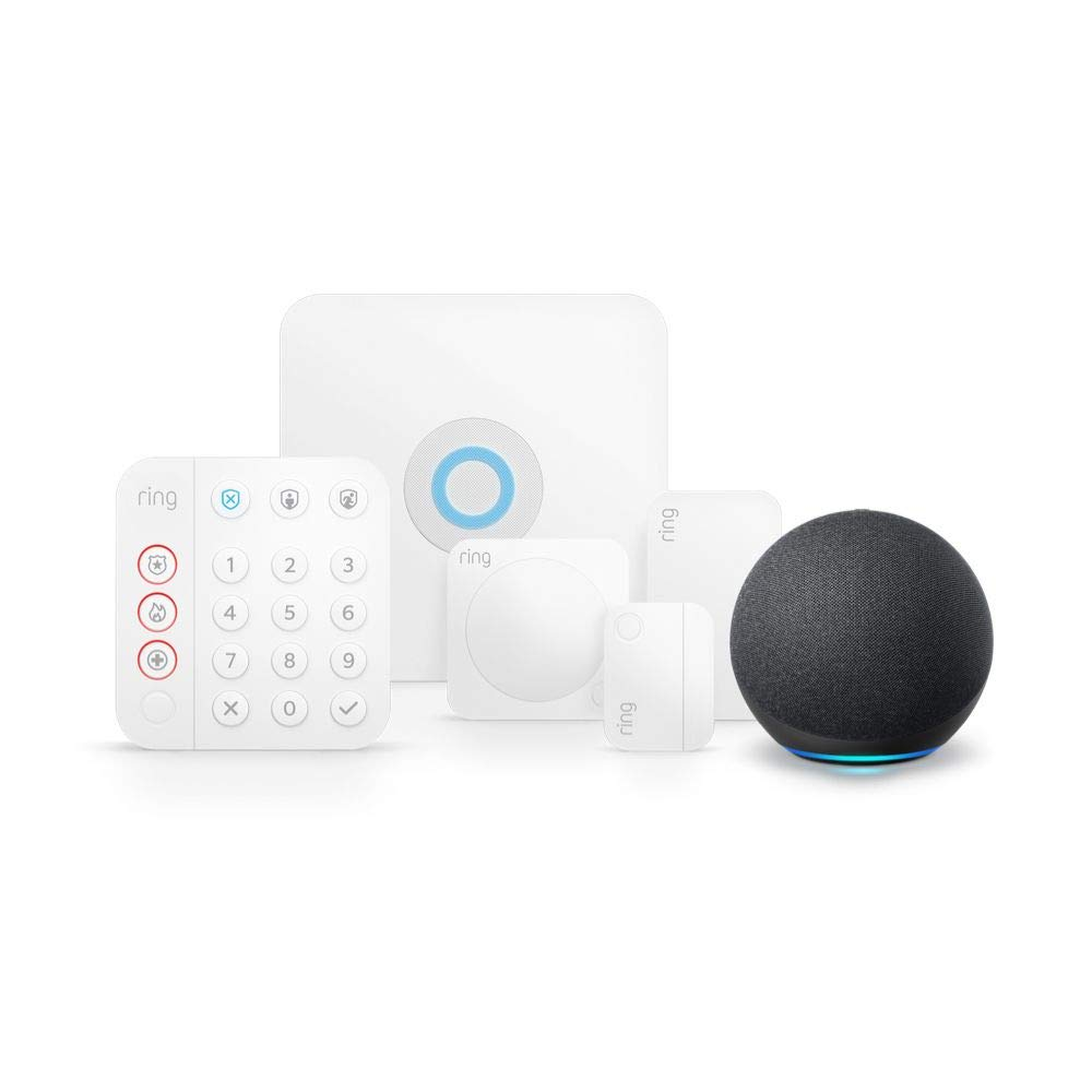 Ring Alarm 5 Piece Echo Dot