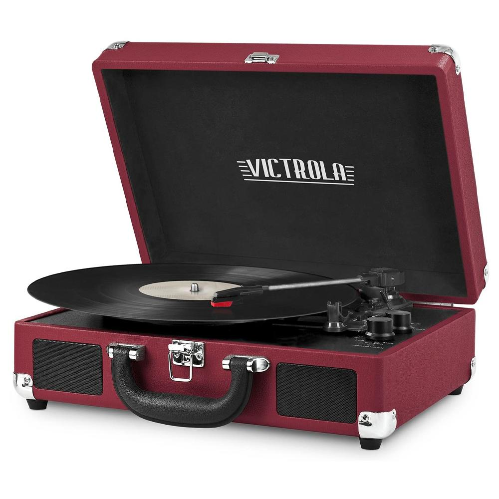 Victrola Vintage 3speed Portable Suitcase