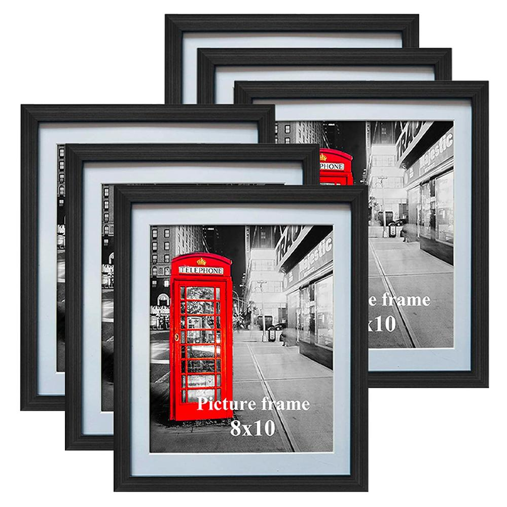 Amazing Roo Black Picture Frames 6pk