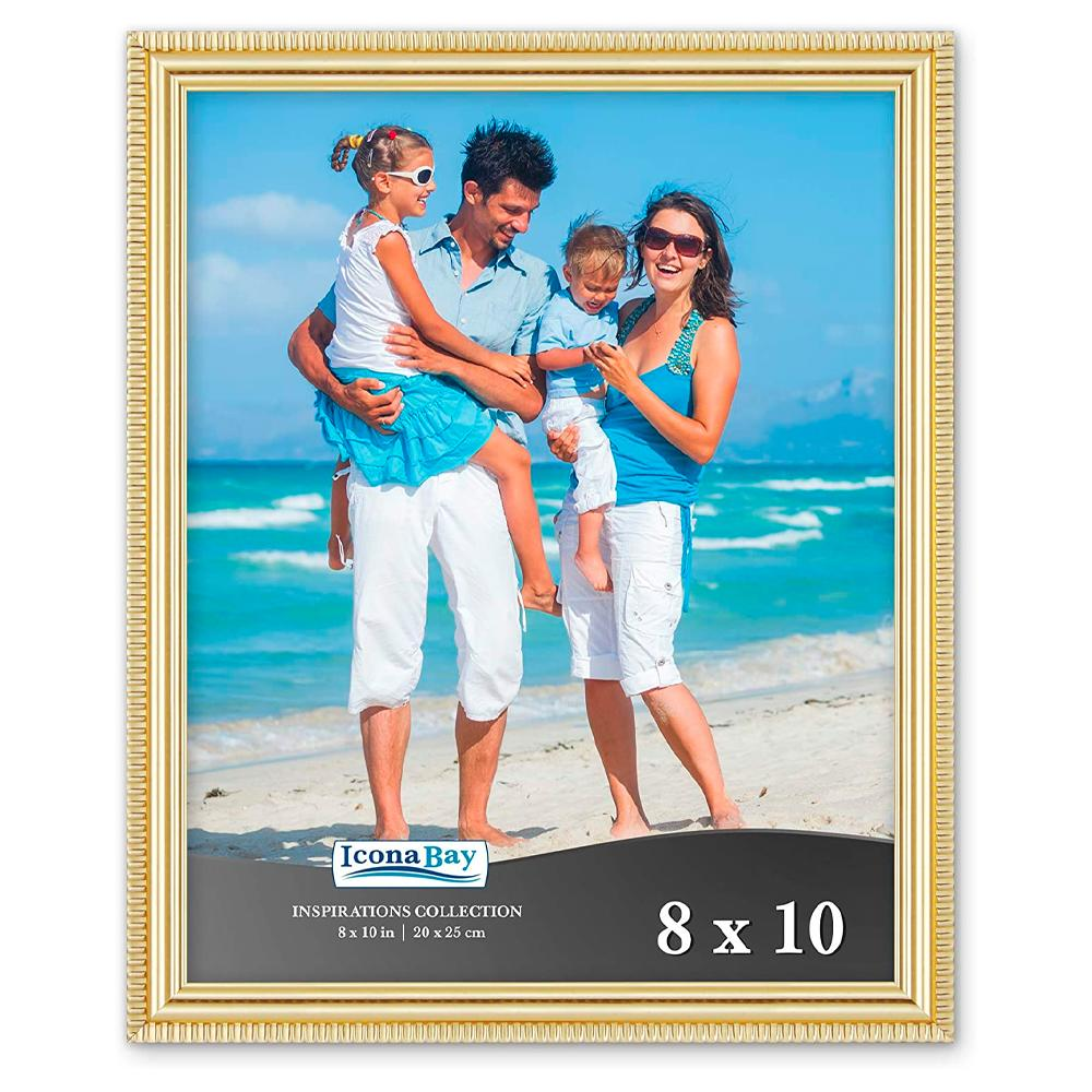 Icona Bay 8x10 Gold Picture Frame