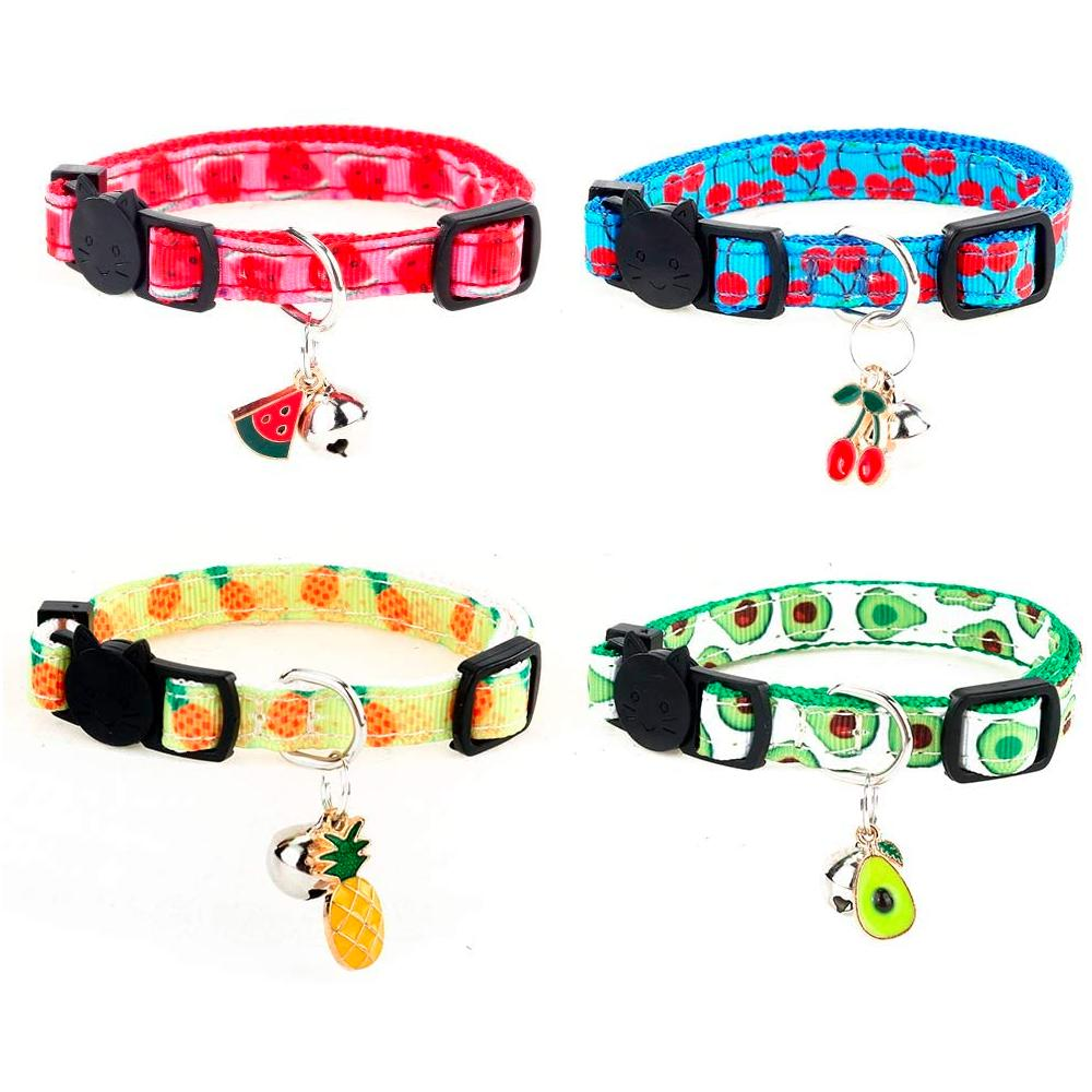 Superbuddy Cat Collars 4pk