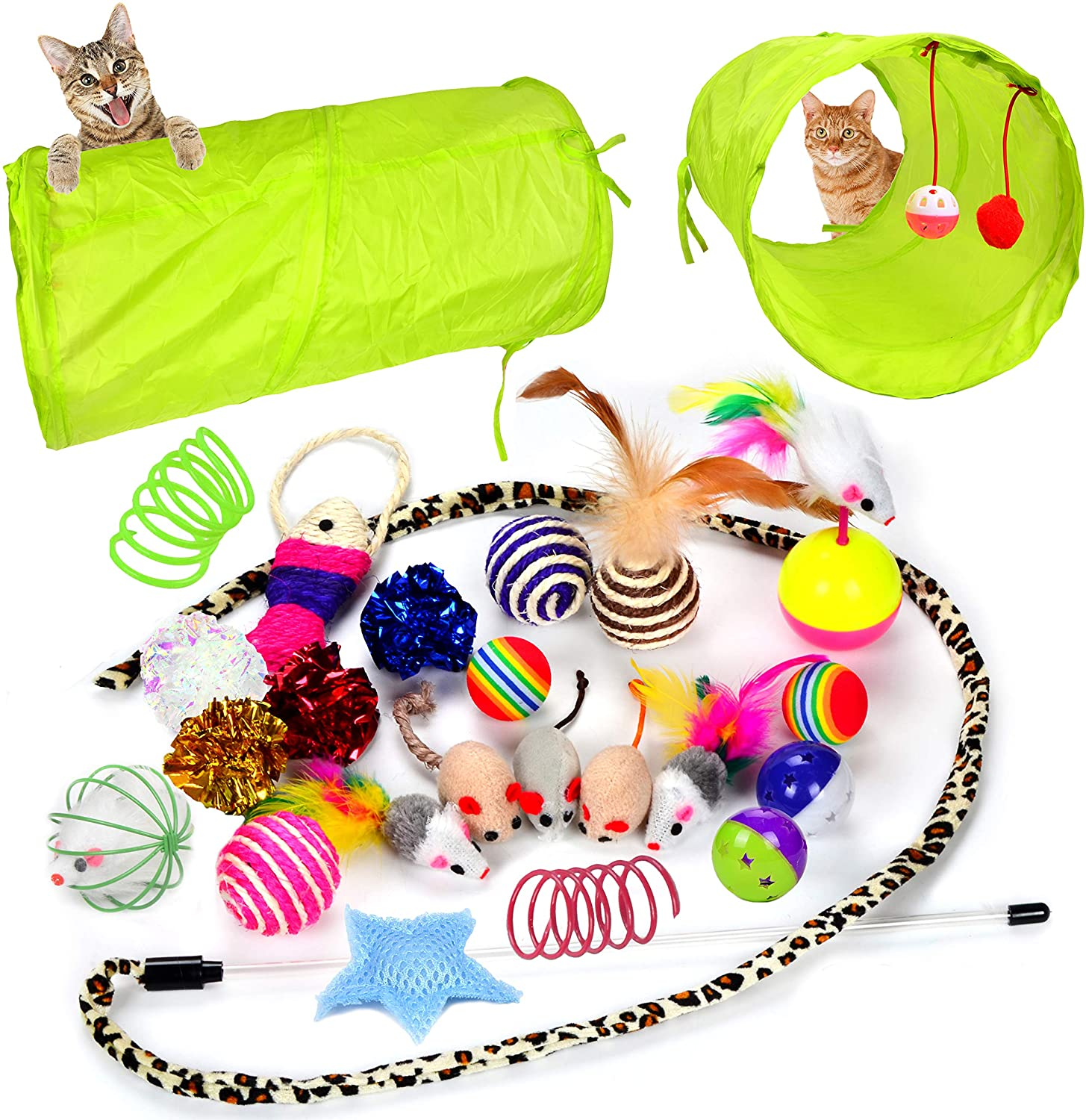 Youngever Cat Toy Bundle