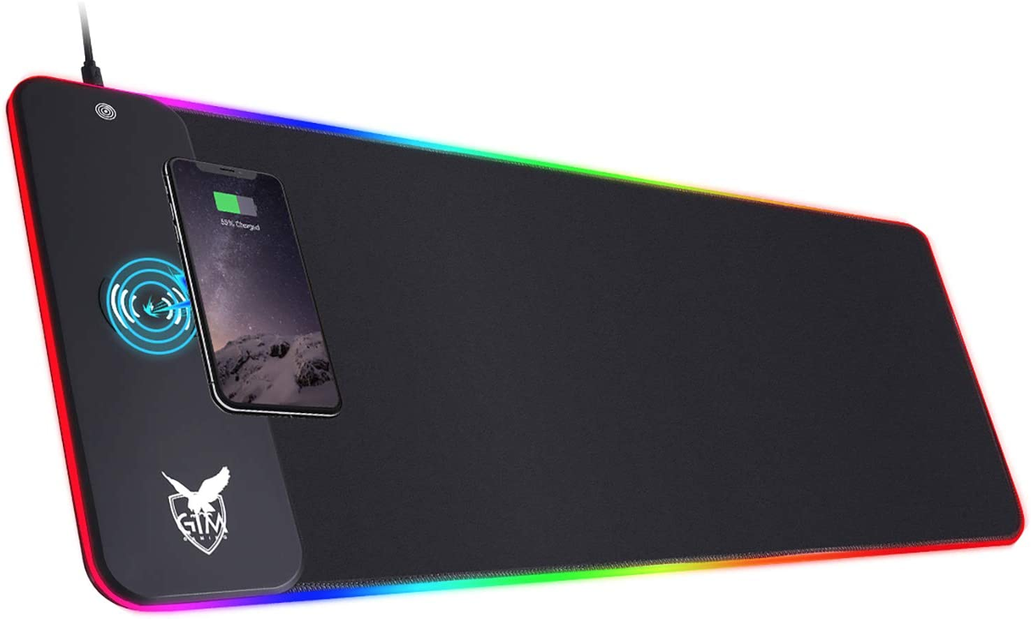 Gim Wireless Charging Mouse Pad