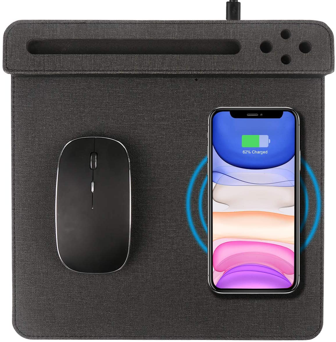 Vheonet Wireless Charging Mouse Pad