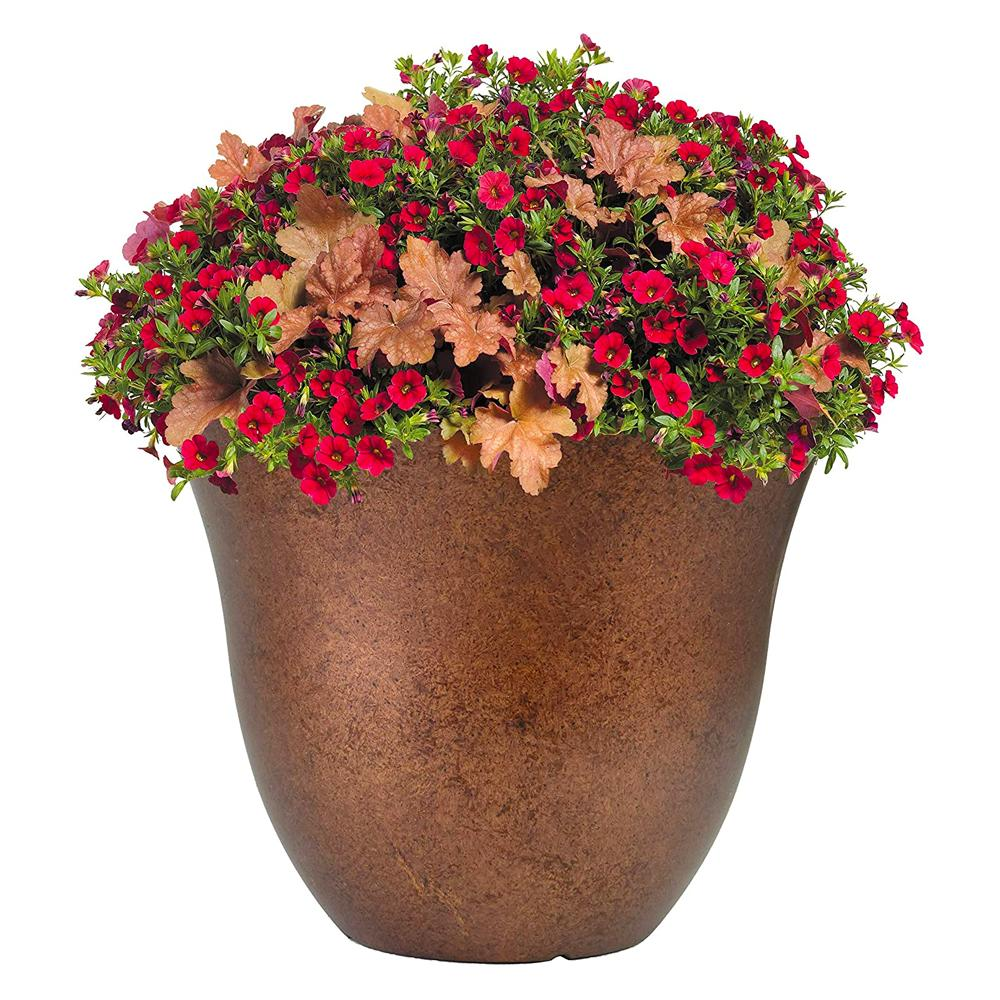 Classic Home Garden Honeysuckle Patio Pot Planter