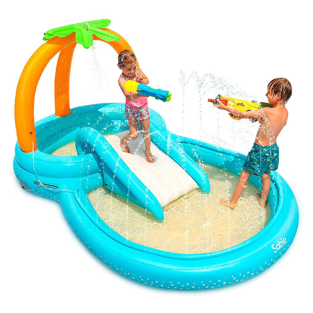Sble Inflatable Play Center Wading Pool