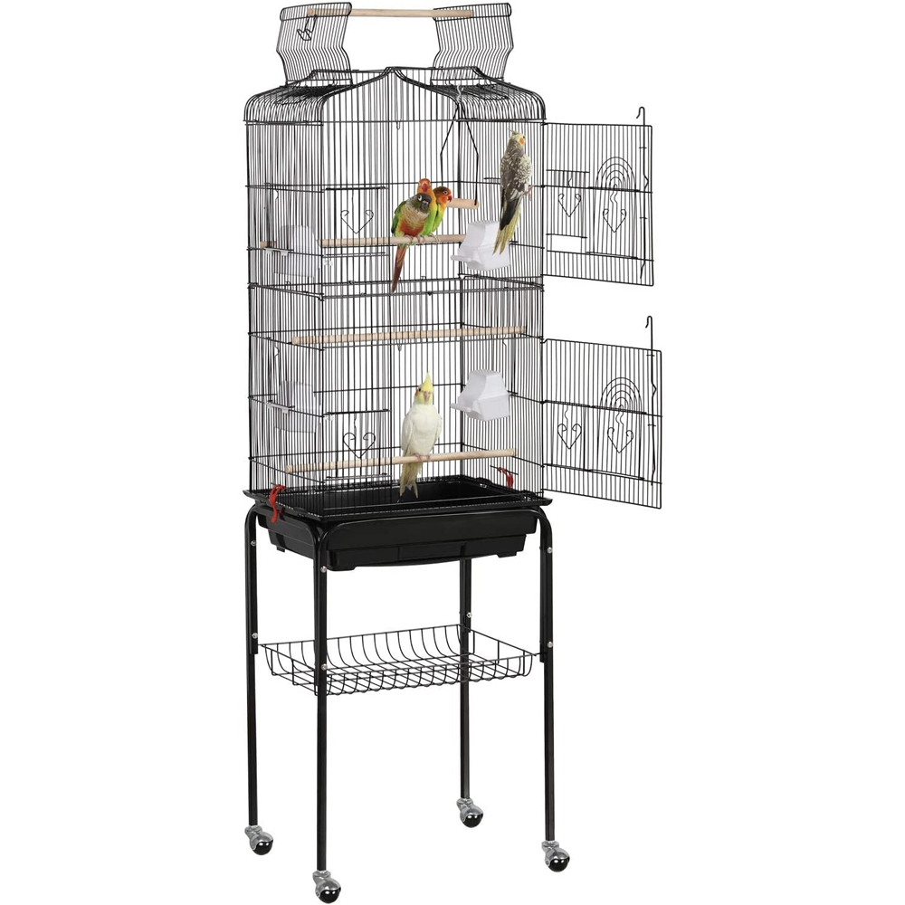 Yaheetech Open Top Cage