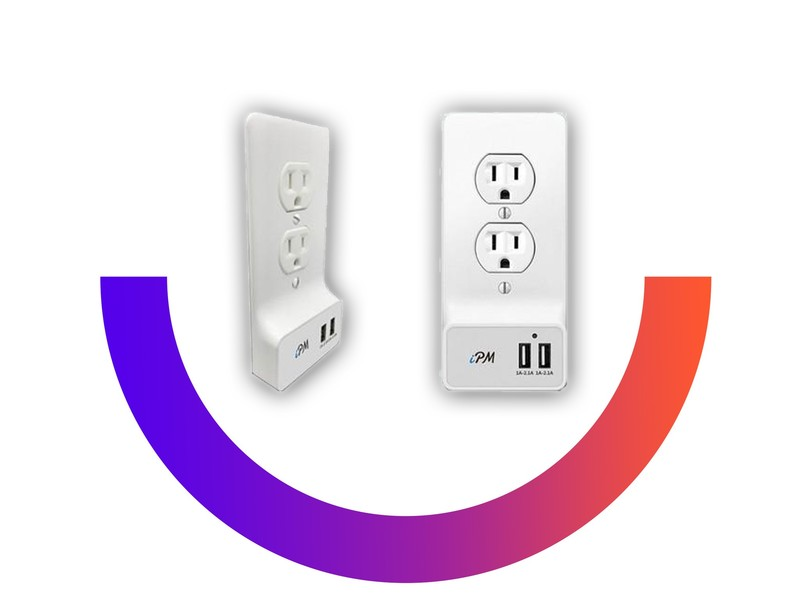 Add 2 USB ports to your existing outlets with these $15 replacement covers