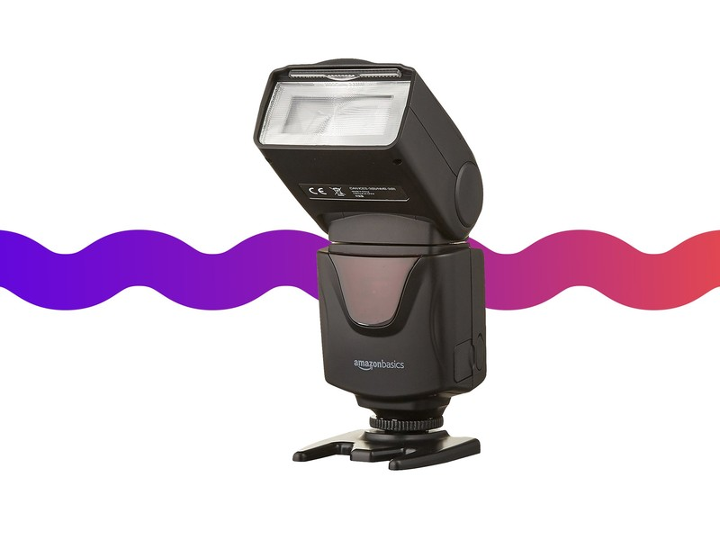Equip your DSLR camera with an electronic flash for $23