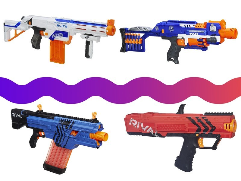 ... room or workplace, and Amazon has taken to gun-running with a huge sale  on Nerf ball and dart blasters. These prices expire at the end of the day.