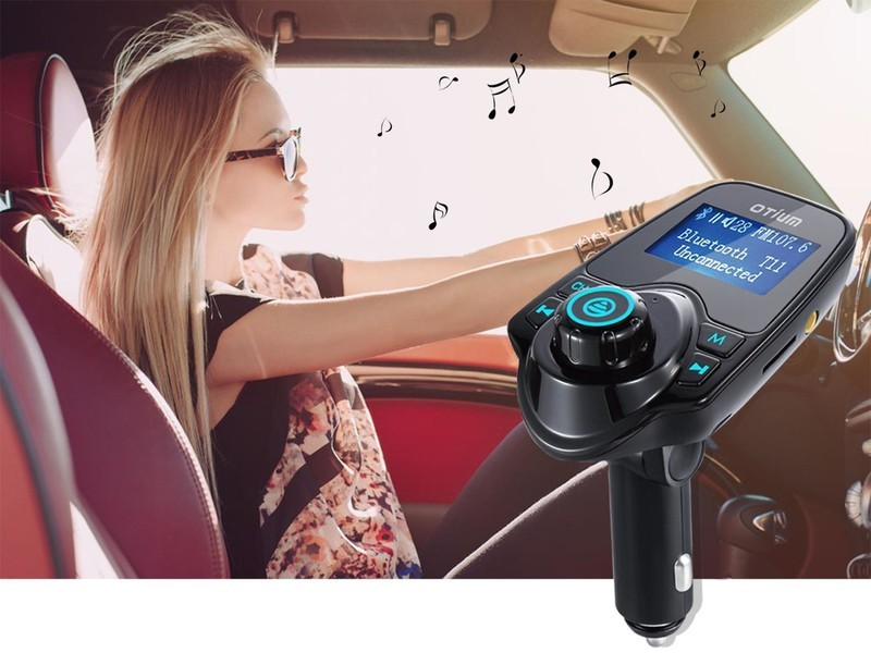 Play audio through your car stereo with this $13 Bluetooth FM Transmitter