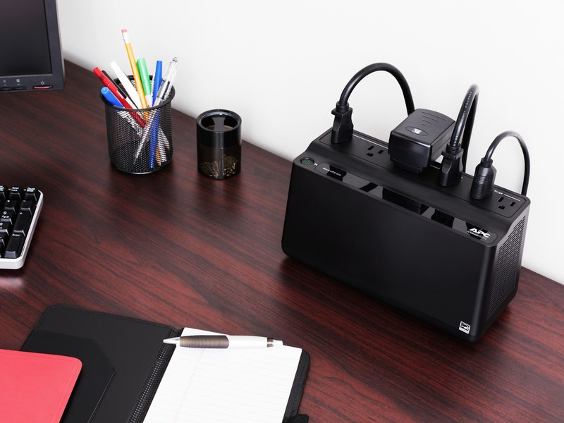 Protect your gear from power surges with this APC 6-outlet