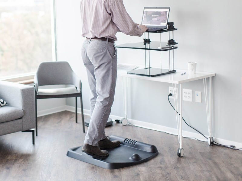 The 80 Terramat Standing Desk Mat Wants To Energize Your