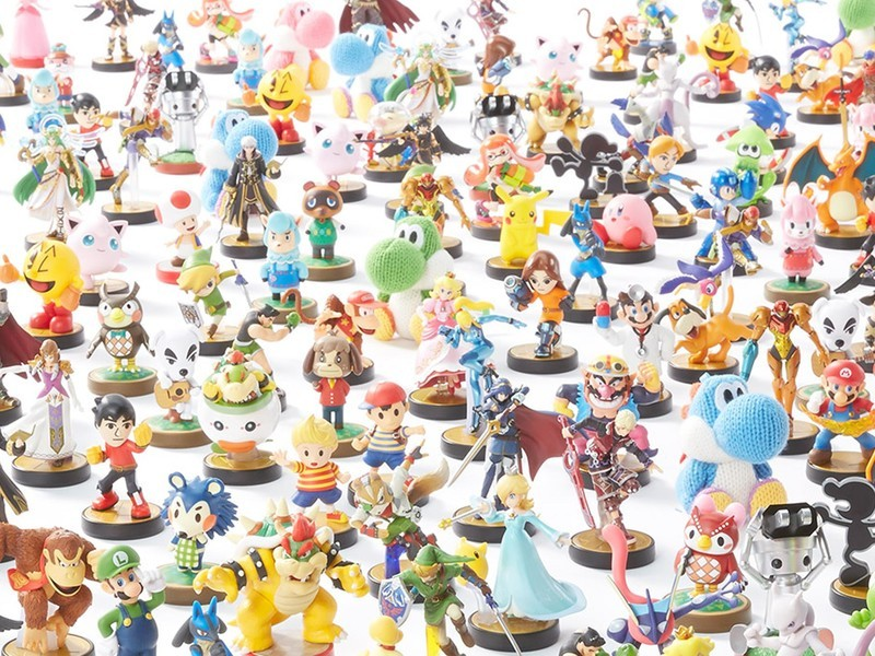 Mix-and-match amiibo and games during Target's Buy Two, Get