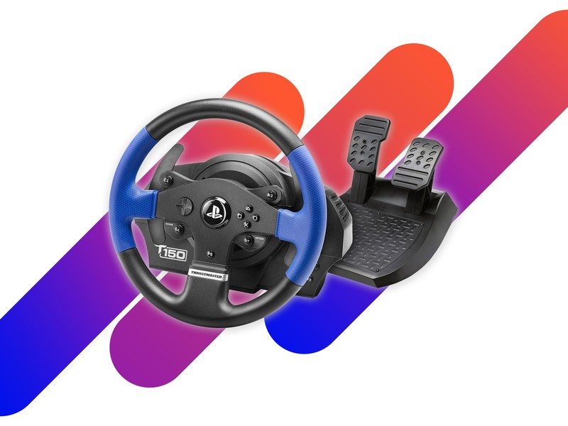 Go full throttle with the $150 Thrustmaster T150 Racing