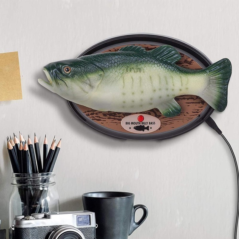 Amazon Alexa-enabled Big Mouth Billy Bass is available for preorder