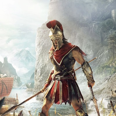 Assassin's Creed Odyssey video game for Xbox/PS4