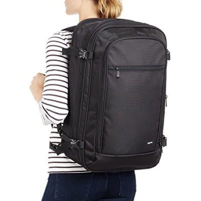 6f3e6dc7cc Traveling will get easier with this  34 AmazonBasics Carry-On Backpack