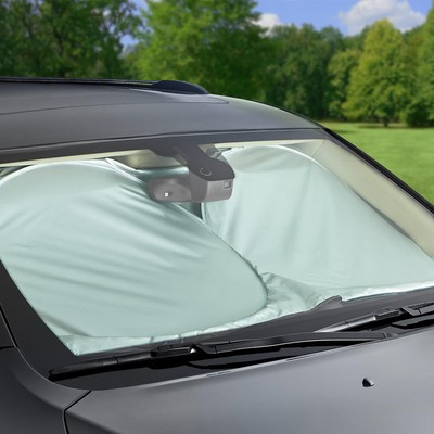 Insulate your car with the AmazonBasics Car Windshield Shade
