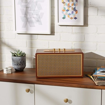 ad4f0abd1dc9 Play tunes on the AmazonBasics Vintage Bluetooth speaker and save $30 today  only