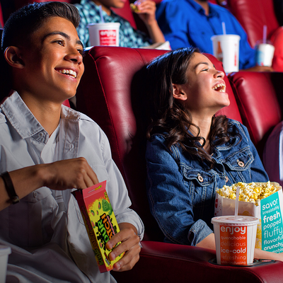 Enter 20 Coke codes to earn a free large drink, popcorn, and AMC movie ticket