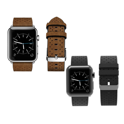 f76af599e3c These genuine leather Apple Watch bands are down to just  4 each today