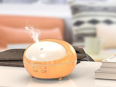 Spirited Portable Humidifier Aromatherapy Office High Quality Led Night Light Lamp Humidifier Big Clearance Sale Small Air Conditioning Appliances Household Appliances