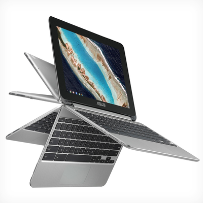 "Asus C101PA-DB02 10.1"" Touch Chromebook Flip"