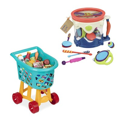 Battat, Play Circle, and Bristle Blocks Toys