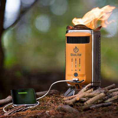 e5f7ba40068 Cook a meal and charge your phone outdoors with the  104 BioLite CampStove 2  Camping Stove