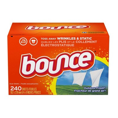 9b22b767d92 Snag a massive box of 240 Bounce fabric softener sheets for just $4 shipped  after coupon