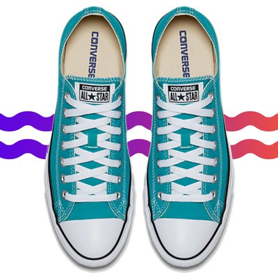 Treat yourself with up to 50% off Converse Sneakers and free