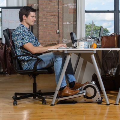 Work out while you work with $100 off the Cubii Pro Under Desk Elliptical