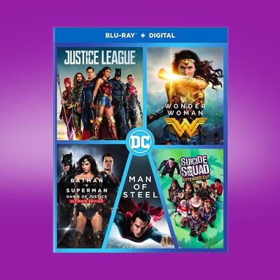 DC 5-Film Collection (Blu-ray)