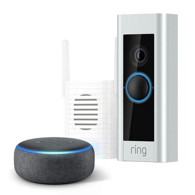 Ring Video Doorbell Pro + Chime Pro + Echo Dot