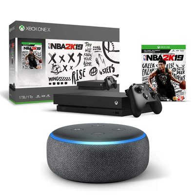 Xbox One bundles + free Echo Dot