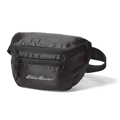 e398dd44c749 Strap Eddie Bauer's Stowaway Pack around your waist for only $10